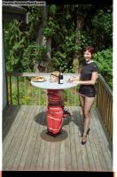 Forniphilia -Elle the Garden Table by 1-Bloggsy