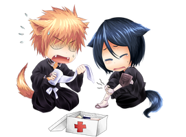 IchiRuki - Chibi by gone-phishing