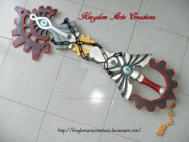 Void Gear keyblade Completed by KingdomArtsCreations