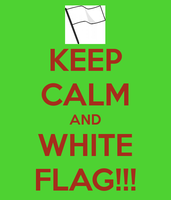 WHITE FLAG! WHITE FLAG!! by Pachimew