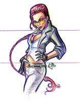 Agent Viper sketch Super Show by ComfortLove