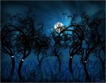 Haunted grove by whiteowl152