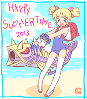 Happy Summertime 2013 by oi-chan