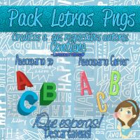 Pack Letras pngs! by LylyEditions