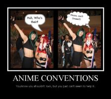 Motivational Poster, Anime Con by SoCoPhDPepper