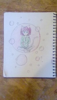 Morimo in her Bubble Remake. (Finished) by JSenpaiDaNinja