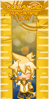 VOCALOID BOOKMARK: LEN by Kutori