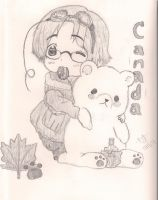 Kawaii Canada and Kumajiro by AnimeHurpDaDurp