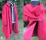 Commission - Edward Elric Hooded Coat by SnowBunnyStudios