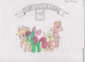 Apple Family (Sweet Apple Acres) by dizzasterr