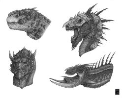 Dragon Heads 2 by Deepcore1