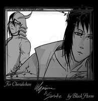 Trade: Ulquiorra n Sasuke by blackstorm