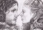 Snow x Ygritte by Mangamania13
