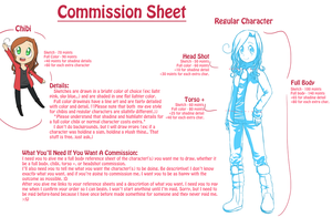 Commission Sheet by PastaIsALie