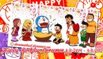 Happy Birthday Doraemon 2015 by doraemonbasil