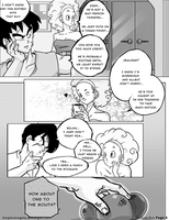 Dbz: Bulma and Vegeta - Firstkiss: Chapter 1, Pg4 by longlovevegeta