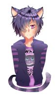 Cheshire Cat's Son by tinytee2000