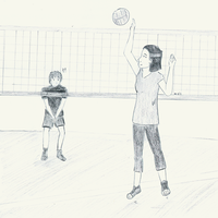 Volleyball by memoire-blanche