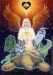 Faith - Dreams of Gaia Tarot by ravynnephelan