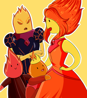 Flame siblings by Rumay-Chian