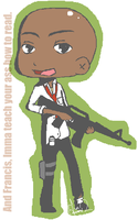 L4D Louis Chibi by REMiiX