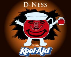 D-ness drinks Kool-Aid titlecard by NorthernAnimator