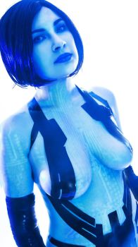 Cortana Halo by Gryz