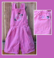 Pink overall shorts by Glori305