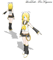 MMD - LoveDeath Rin by XxRandomParanoiaxX