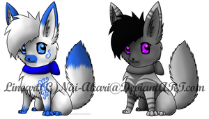 Fox adoptables -Open- by Jamie901