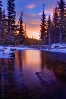 Flowing Colors of Dream Lake by Jacob-Routzahn