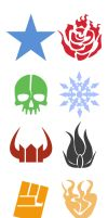 Brs Rwby Emblems by dan-heron