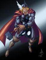 Thor Quickie by fdiskart