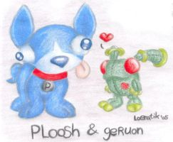 Geruon and Ploosh by sbslink