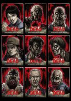 Walking Dead Comic Book Sketchcards 4 by Guy-Bigbelly