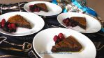 chocolate cake 'n berries by BentoLove