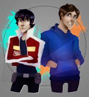 keith and lance by TrippyTape