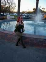 Poison Ivy at SacAnime Winter 2012 by DearestLeader