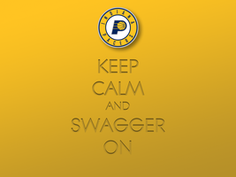 Keep Calm and Swagger On by 1madhatter