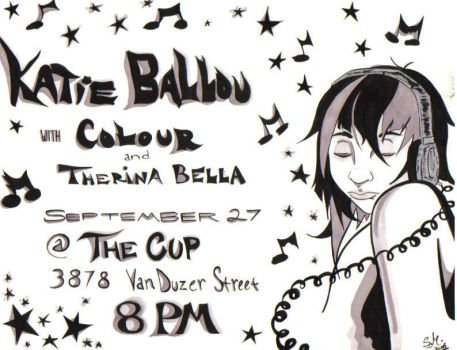 Katie Ballou flyer by the-reconquista