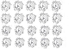 Facial expressions by tiger07135
