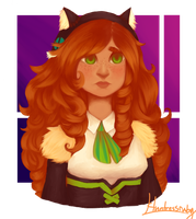 Cowardly Lion by WiggityWhacksack