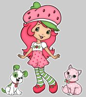 Strawberry Shortcake by slinkysis3