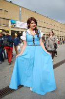 Belle - OUAT by Thara-Wood