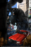 Starsky and Hutch vs King Kong 2 by Sebastien-Ecosse