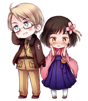 (commission) APH: Take my hand by NonexistentWorld