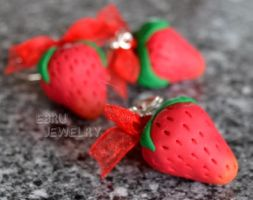 Strawberries set by Lovely-Ebru