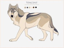 DotW Seasons/Weather Entry: Vincent by Tazihound