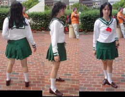 Kagome Cosplay by FehFeh13