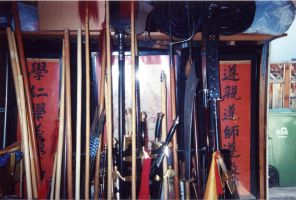 The Weapon Rack by shaolinfeilong